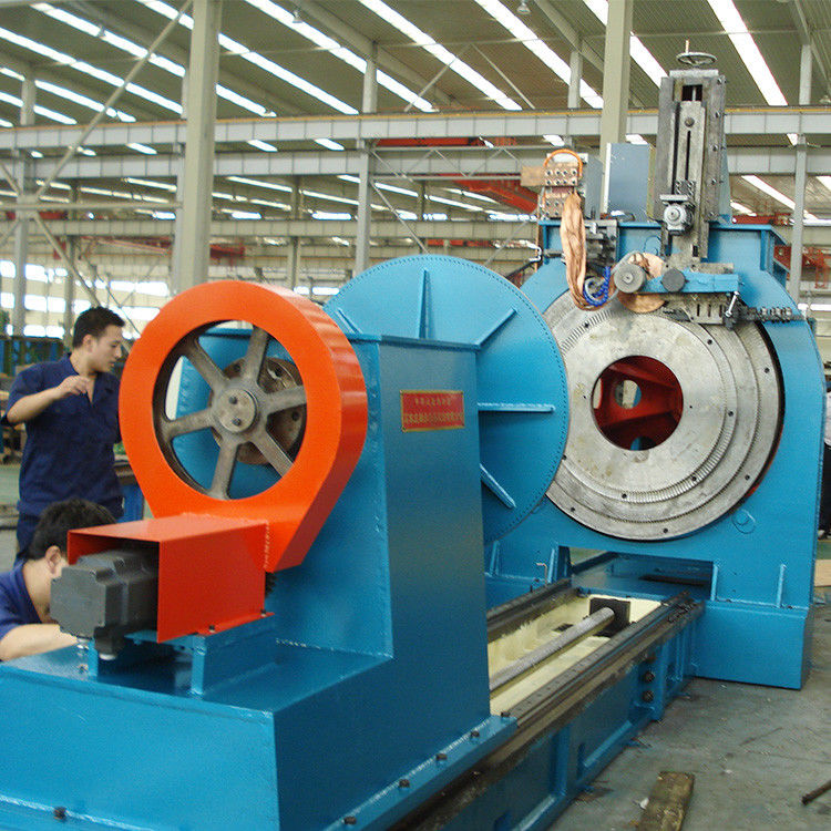 Automatic Machinery Wedge Wire Screen Welding Machine 23kw 6-40rpm Speed
